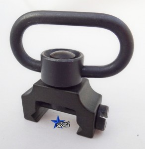 Low Profile Tactical QD adapter with QR Swivel 1