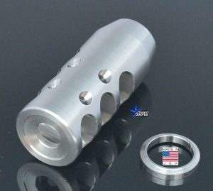 G2-T/C-SS Contender Stainless Steel 3 Gun Competition Muzzle Brake Austin Texas USA
