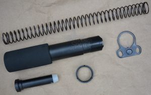 Pistol Buffer Tube Assembly Kit Ambidextrous end plate