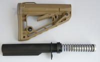 RSS Rogers Super Stoc Stock Deluxe with Mil Spec Buffer tube Assembly FDE Flat Dark Earth (1)