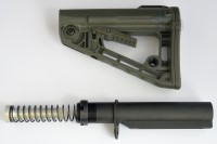 RSS Rogers Super Stoc Stock Deluxe with Mil Spec Buffer tube Assembly OD Green Austin Texas 2