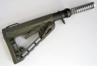 RSS Rogers Super Stoc Stock Deluxe with Mil Spec Buffer tube Assembly OD Green Austin Texas 3