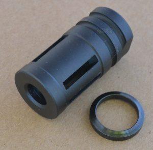 SCA Muzzle Brake Compensator A2 featureless Best Discount AR15 Glock AK47 parts Austin Texas USA 0