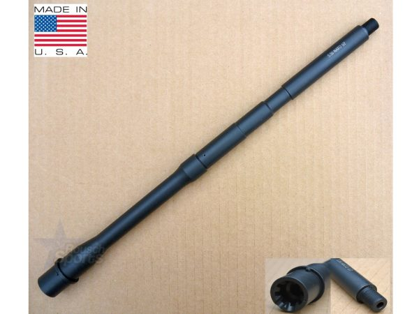 "16"" inch M4 Barrel 5.56 .223 1:7 Twist Melonite Black Nitride AR15 M16 M4 Austin Texas Best wholesale Discount Prices Austin Texas Rousch Sports"