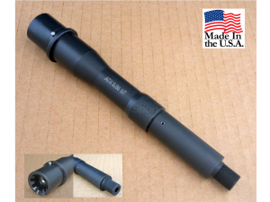 "7.5"" inch m4 profile barrel 5.56 / .223 1:7 twist melonite"