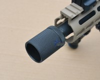 Solvent Trap Adapter with Percussion Shroud Thread Protector Pistol Rifle AR15 M16 M4  Ruger Walther Sig Sauer Austin Texas Best wholesale Discount Prices Austini Texas Rousch Sports 7