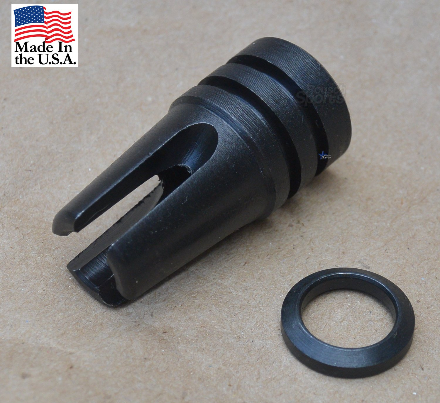 AR15 M15 M4 3 Prong Flash Hider -SP1 Retro Rousch Sports Austin Texas Wholesale Discount Best Prices Tactical