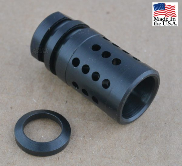 "A2 Fox Hole V1 Flash Hider Muzzle Device Half Cage 1/2""-28 5/8""-24 Best Wholesale Discount Prices AR15 M16 M4 Austin Texas USA"