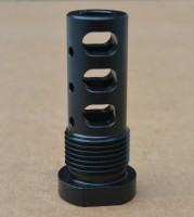 GRBV2 MULTIPURPOSE MUZZLE BRAKE EXTERNAL THREAD ADAPTER 9mm 4