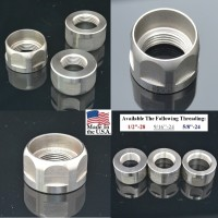 Go Nuts – Jam Nut Stainless Steel 12-28   916-24 1 Best Wholesale Discount Prices AR15 M16 M4 Austin Texas USA   58-24 A