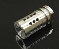 FXH-C2 Shorty Stainless Steel Muzzle Brake Compensator A2 Style  6.5 Grendel M16 M4 AR15 Austin Texas Best Discount Wholesale Price Accessories RIfle Pistol Handgun Long Gun 2