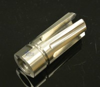 Stainless Steel Rampage 4 Prong Flash Hider 5