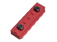 Link Rail Section 6 Slots Strike Industries Anodized Red Black AR 15 M4 M16 Best Discount Wholesale AR Parts and Accessories Austin Texas USA 3