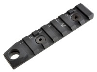 Link Rail Section 7 Slots QD Featured Strike Industries Anodized Red Black AR 15 M4 M16 Best Discount Wholesale AR Parts and Accessories Austin Texas USA 2