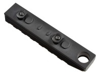 Link Rail Section 7 Slots QD Featured Strike Industries Anodized Red Black AR 15 M4 M16 Best Discount Wholesale AR Parts and Accessories Austin Texas USA 7