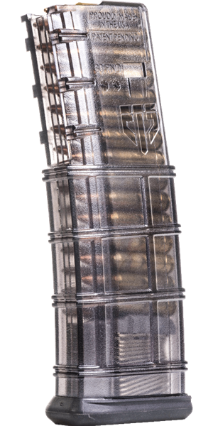ETS AR15 Magazine 30 Round Smoke Elite Tactical Systems AR 15 M4 M16 Best Discount Wholesale AR Parts and Accessories Austin Texas USA