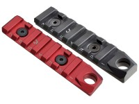 Link Rail Section 7 Slots QD Featured Strike Industries Anodized Red Black AR 15 M4 M16 Best Discount Wholesale AR Parts and Accessories Austin Texas USA 1