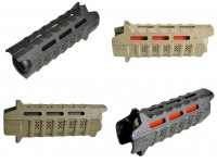 Viper Handguard Carbine Length Strike Industries mlok m lok 2 piece drop in .223 5.56 308 LR308 Ar 10 AR 15 M4 M16 Best Discount Wholesale AR Parts and Accessories Austin Texas USA FDE RED Black Rousch