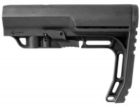 Mission First Tactical BMSMIL BATTLELINK Minimalist Milspec Stock .223 5.56  308 LR308 Ar 10 AR 15 M4 M16 Best Discount Wholesale AR Parts and Accessories Austin Texas USA bms-black-3