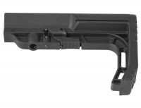 Mission First Tactical BMSMIL BATTLELINK Minimalist Milspec Stock .223 5.56  308 LR308 Ar 10 AR 15 M4 M16 Best Discount Wholesale AR Parts and Accessories Austin Texas USA bms-black-7