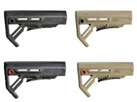 Viper MOD 1 Stock Mil Spec Black or Flat Dark Earth Strike Industries .223 5.56  AR 15 M4 M16 Best Discount Wholesale AR Parts and Accessories Austin Texas USA viper-all-fde-black-fde-red-black-black-black-red-rousch