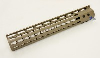 FDE ULS V7B Keymod Free Float HandGuard Forend 12 Inch AR 15 AR 10 Ambidextrous Speed Safety .223 5.56 AR 15 M4 M16 Best Discount Wholesale AR Parts and Accessories Austin Texas USA 1