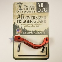 Timber Creek Outdoors Skeletonized Oversized Trigger Guard RED Anodized AR 15 M16 M4 Best Austin Discount AR Parts and accessories Austin Texas Build your custom AR today 6