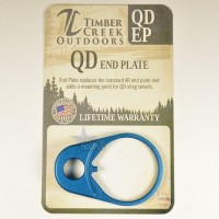 QD Quick Detach End Sling PLATE Swivel Mount ANODIZED BLUE QD EP By Timber Creek Outdoors .223 5.56 .308 RED  AR 15 M4 M16 Best Discount Wholesale AR Parts and Accessories Austin Texas   QDEP- BLUE 6