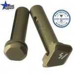 Strike Industries ULTRA LIGHT Enhanced Extended Pivot Take Down Pins FDE Flat Dark Earth .223 5.56 .308 AR 15 M4 M16 Best Discount Wholesale AR Parts and Accessories Austin Texas