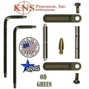 KNS Pins Anti Walk Pins Non Rotating Gen Northrop Side Plates OD Green .223 5.56 .308 AR 15 M4 M16 Best Discount Wholesale AR Parts and Accessories Austin Texas 1 .223 5.56 .308 AR 15 M4 M16 Best Discount Wholesale AR Parts and Accessories Austin Texas Stainless Steel
