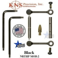 KNS Pins Anti Walk Pins Non Rotating Gen Northrop Mod 2 Side Plates BLACK .223 5.56 .308 AR 15 M4 M16 Best Discount Wholesale AR Parts and Accessories Austin Texas 1 .223 5.56 .308 AR 15 M4 M16 Best Discount Wholesale AR Parts and Accessories Austin Texas Stainless Steel KNS Anti Walk Pins Gen NRTHP MOD.2 2