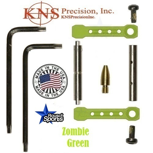KNS Pins Anti Walk Pins Non Rotating Gen ST Spike's Side Plates Zombie Green .223 5.56 .308 AR 15 M4 M16 Best Discount Wholesale AR Parts and Accessories Austin Texas 1 .223 5.56 .308 AR 15 M4 M16 Best Discount Wholesale AR Parts and Accessories Austin Texas Stainless Steel