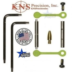 KNS Pins Anti Walk Pins Non Rotating Gen Northrop Mod 2 Side Plates Zombie Green .223 5.56 .308 AR 15 M4 M16 Best Discount Wholesale AR Parts and Accessories Austin Texas 1 .223 5.56 .308 AR 15 M4 M16 Best Discount Wholesale AR Parts and Accessories Austin Texas Stainless Steel