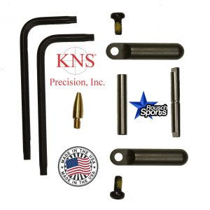 KNS Pins Anti-Walk Pins Non-Rotating Gen Northrop Side Plates BLACK .223 5.56 .308 AR 15 M4 M16 Best Discount Wholesale AR Parts and Accessories Austin Texas 1 .223 5.56 .308 AR 15 M4 M16 Best Discount Wholesale AR Parts and Accessories Austin Texas Stainless Steel