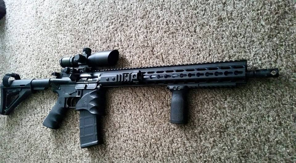 AR15 Customer Builds B Merril - Rousch Sports Austin Texas AR15