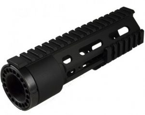 AR15 Free Float Quad Rail Modular carbine length