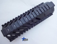 Free Floating Tactical Handguard carbine Slotted 1