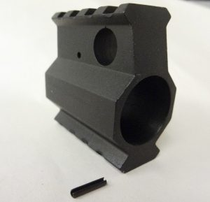 AR10 Rail Height 2 Rail Gas Block .936 2