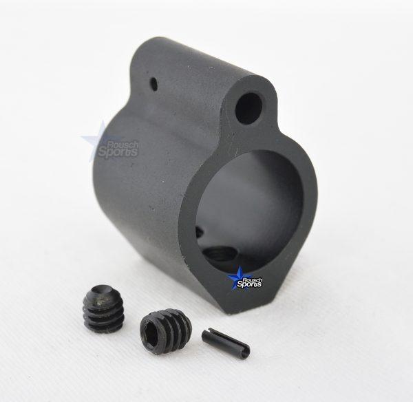 Low Profile Micro Gas Block Aluminum .750 COMBO Stainless Steel Pistol Length Gas Tube plus .750 Gas Block Aluminum M16 AR15 M4 Austin Texas