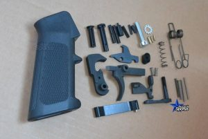 AR15 Classic Lower Parts Kit Complete Premium Mil Spec LPK
