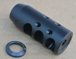 "G2-TC Contender 3 Gun Competition Muzzle Brake Black Nitride Best Austin Texas discount Price M16 AR15 M4 1/2""-28 , 9/16""-24 , 14-1 , 14-1 Left Hand , 5/8""-24 Ruger 10/22 Walther P22"