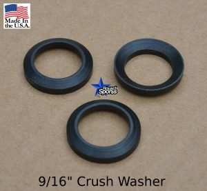 "9/16"" Crush Washer 3 pack 6.5 Grendel AR15 M16 M4 Austin Texas Best wholesale Discount Prices Austin Texas Rousch Sports 916"" Crush Washer 3 pack"
