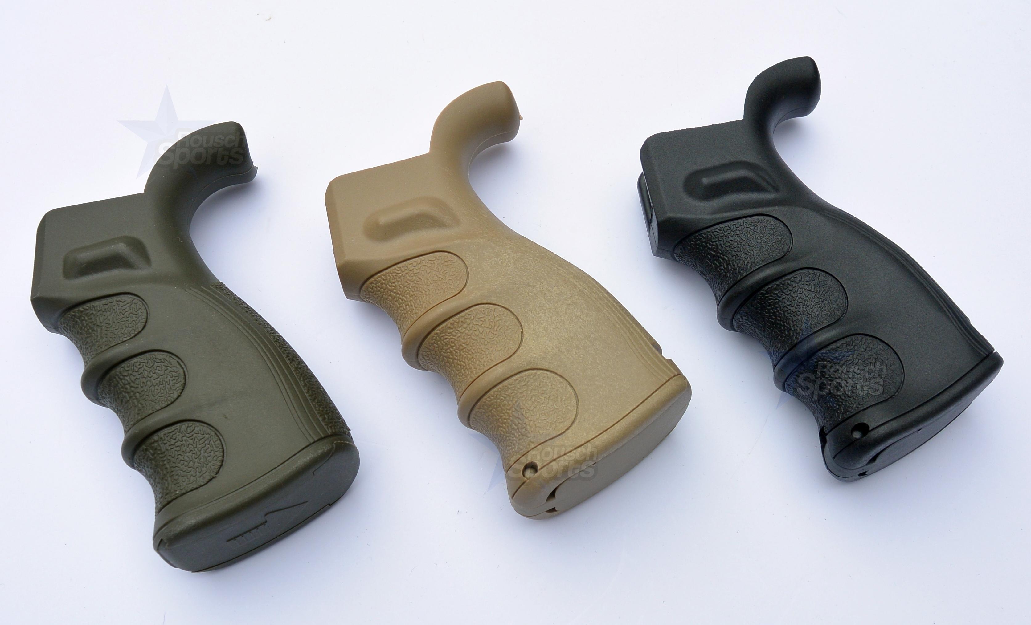 Ar15 Pistol Grip Black Fde Od Green Rousch Sports