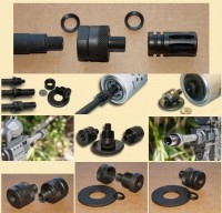 Muzzle Adapter System Thread Adapter Solvent  Trap AR15 M16 M4 Austin Texas Best wholesale Discount Prices Austin Texas Rousch Sports 1