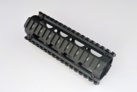 2 Piece Drop in Quad Rail Handguard Forend -Oval 3
