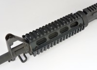 2 Piece Drop in Quad Rail Handguard Forend -Oval 4