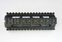2 Piece Drop in Quad Rail Handguard Forend -Oval 6