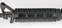 2 Piece Drop in Quad Rail Handguard Forend -Oval 7