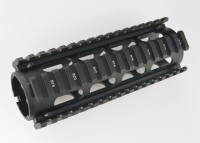 2 Piece Drop in Quad Rail Handguard Forend -Oval 9