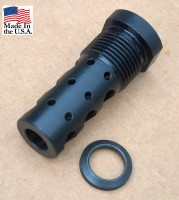 GRBV2 MULTIPURPOSE MUZZLE BRAKE EXTERNAL THREAD ADAPTER 9mm 1